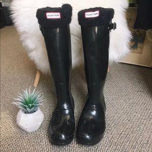 Hunter Orignal Gloss Tall Tour Boots